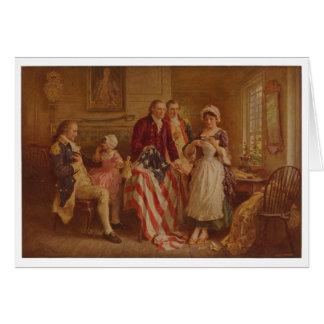 Betsy Ross, 1777, JLG Ferris, c1930 Card