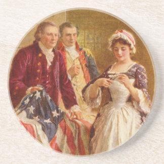 Betsy Ross Coaster