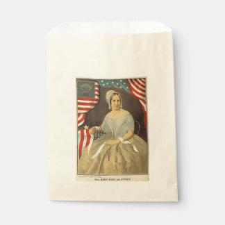 Betsy Ross First American Flag Vintage Portrait US Favour Bag