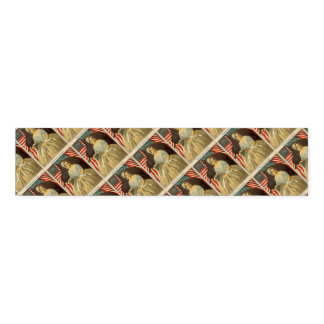 Betsy Ross First American Flag Vintage Portrait US Napkin Band