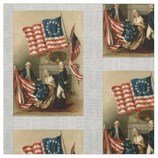 Betsy Ross Flag Fabric