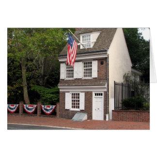 Betsy Ross House Card