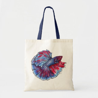 Betta fish canvas bag