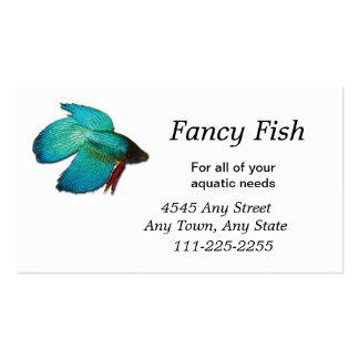 Betta Fish Fish or Aquarium Business Card