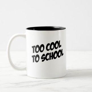 Betta Fish; Too Cool to School Coffee Mugs