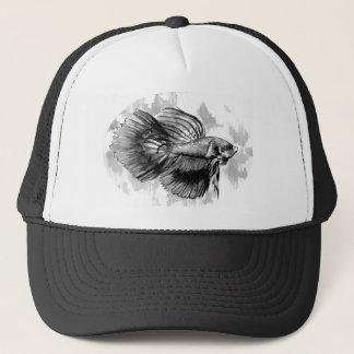 Betta Fish Trucker Cap