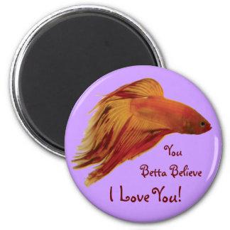 Betta - Love You Magnet