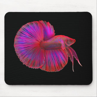 Betta Siamese Fighting Fish Mousepad