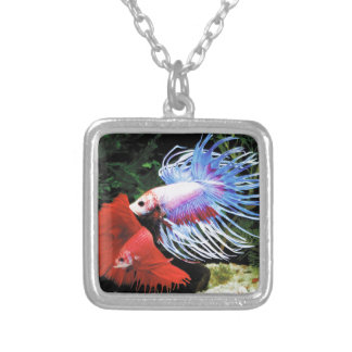 Betta Silver Plated Necklace