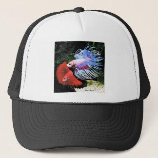Betta splendens trucker hat