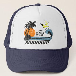 Better in Bahamas Faded Trucker Hat