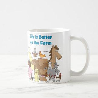 Better on the Farm Coffee Mug