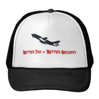 Better Pay = Better Security Mesh Hat