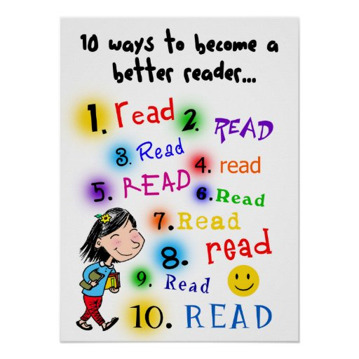 Better Reader Posters