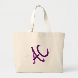 BETTER THAN A C.its an ac. Large Tote Bag