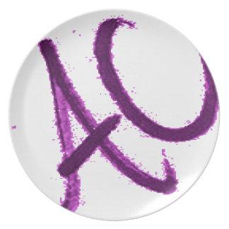 BETTER THAN A C.its an ac. Plate