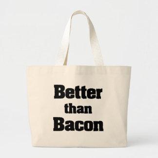 Better than Bacon Jumbo Tote Bag
