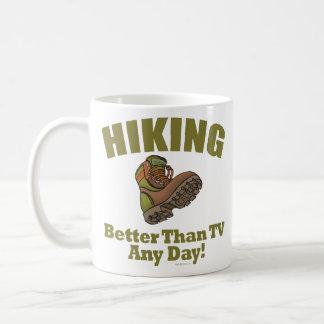 Better Than TV - Hiking Basic White Mug