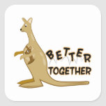Better Together Square Sticker