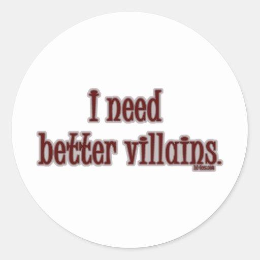 Better Villains Sticker