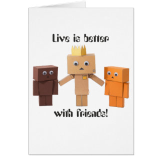 better with friends card