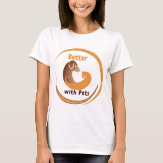Better with Pets T-shirt (Youth)