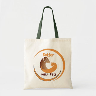 Better with Pets Tote Bag