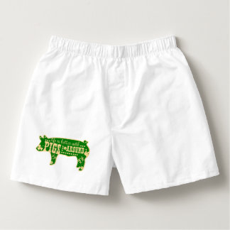 Better With Pigs Boxers