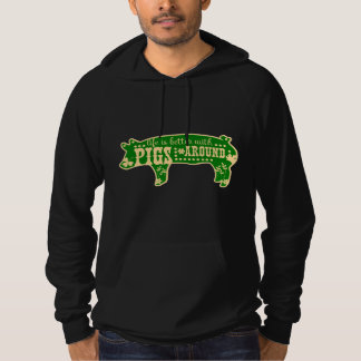 Better With Pigs Hoodie