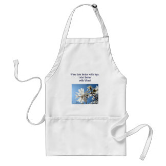 Better with Wine aprons gift Blue Sky Magnolias