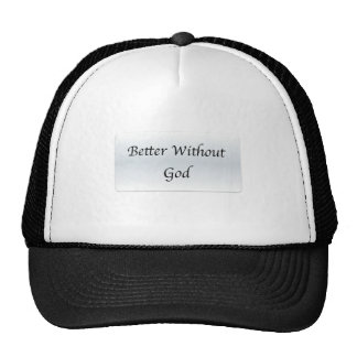 Better Without God Mesh Hat