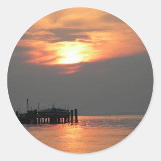Betterton Beach Classic Round Sticker