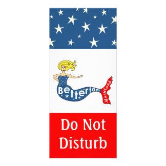 Betterton Mermaid Do Not Disturb Rack Card