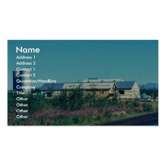 Bettles Light and Power Plant Business Cards