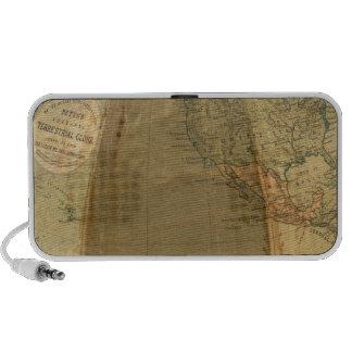 Betts's Portable Terrestrial Globe Travelling Speaker