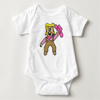 Betty-Ann the Farmer's Daughter Baby Bodysuit