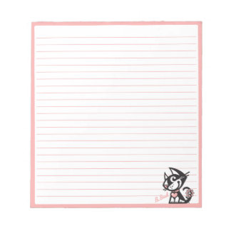 BETTY BAD . B-BAD NOTEPAD