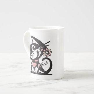 BETTY BAD KITTY TEA CUP