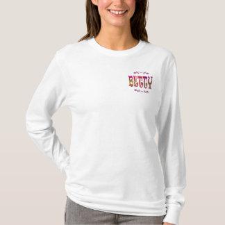 Betty Hoodie Long Sleeve T-Shirt