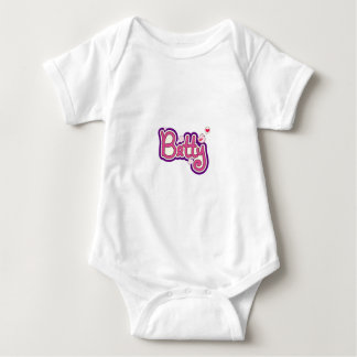 Betty Name Personalized Baby Bodysuit