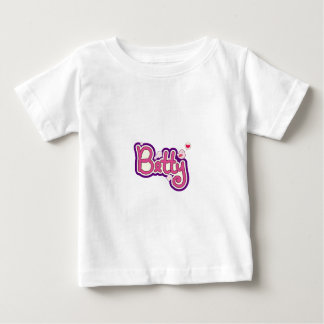 Betty Name Personalized Baby T-Shirt