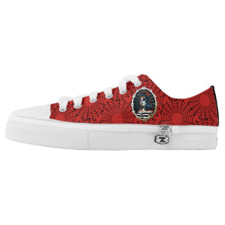 Betty Spider Queen _REDSHOES Low Tops