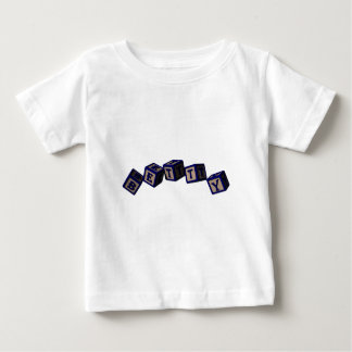 Betty toy blocks in blue. baby T-Shirt