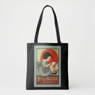 Bettys Painting Book Tote Bag