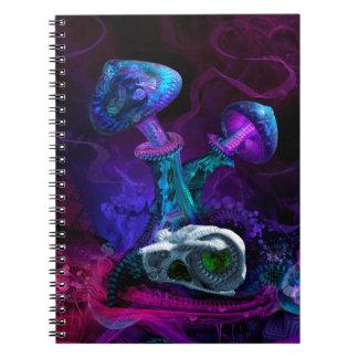 Between Dimensions Spiral Notebook