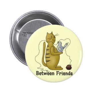 Between Friends Cat Pins