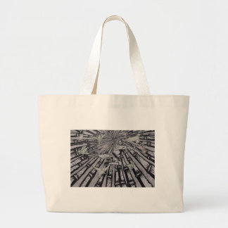 Between Real and Surreal by Carter L. Shepard Large Tote Bag