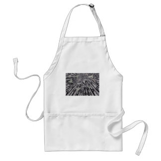 Between Real and Surreal by Carter L. Shepard Standard Apron