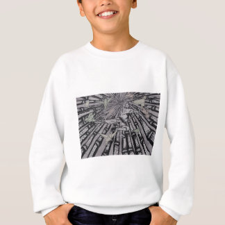 Between Real and Surreal by Carter L. Shepard Sweatshirt
