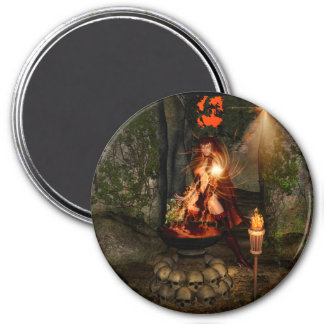 Beuatiful witch magnets